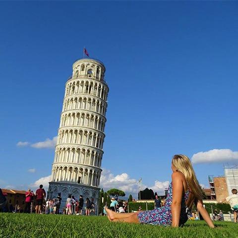 Jess in Italy